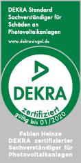 Dekra Siegel für Perlutec GmbH